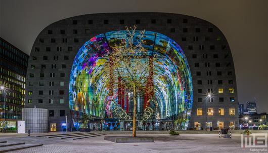 De Markthal in Rotterdam tijdens Kerstmis | Cover Small