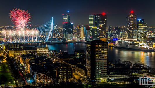Het Nationale Vuurwerk 2015 in Rotterdam | Cover Small