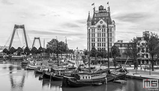 De Willemsbrug en het Witte Huis in de Oudehaven in Rotterdam | Cover Small