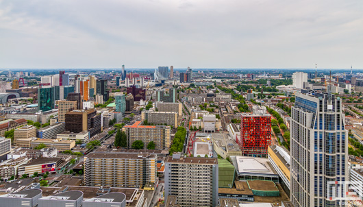 De binnenstad van Rotterdam by Day | Cover Small