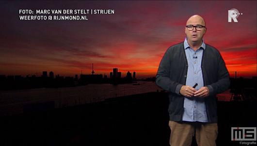De zonsopkomst in Rotterdam van MS Fotografie bij Ed Aldus van RTV Rijnmond | Cover Small