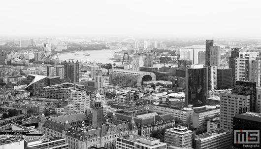 De skyline van Rotterdam Binnenstad met de Markthal | Cover Small