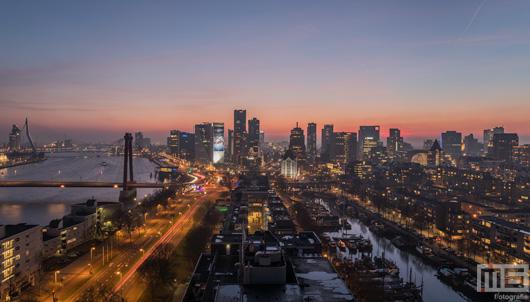 De Rotterdam by Night Havenstad Rotterdam Editie 2017 | Cover Small