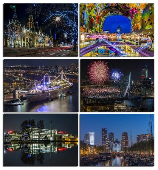 MS Fotografie Rotterdam by Night Ansichtkaarten Bestelpagina