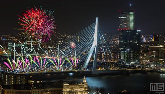 Gelukkig Nieuwjaar! Het Nationale Vuurwerk Rotterdam 2018 | Cover Small