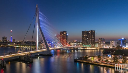 De Rotterdamse Iconen - Rotterdam by Night | Cover Small