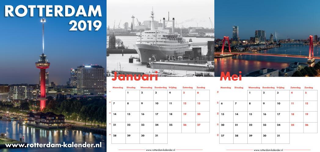 Rotterdam Kalender 2019 in de winkel en online te koop