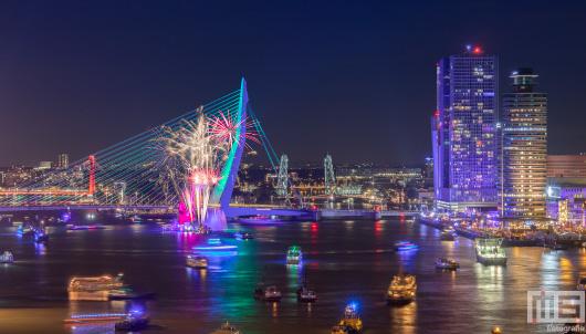 Vuurwerk Wereldhavendagen 2018 in Rotterdam | Cover Small