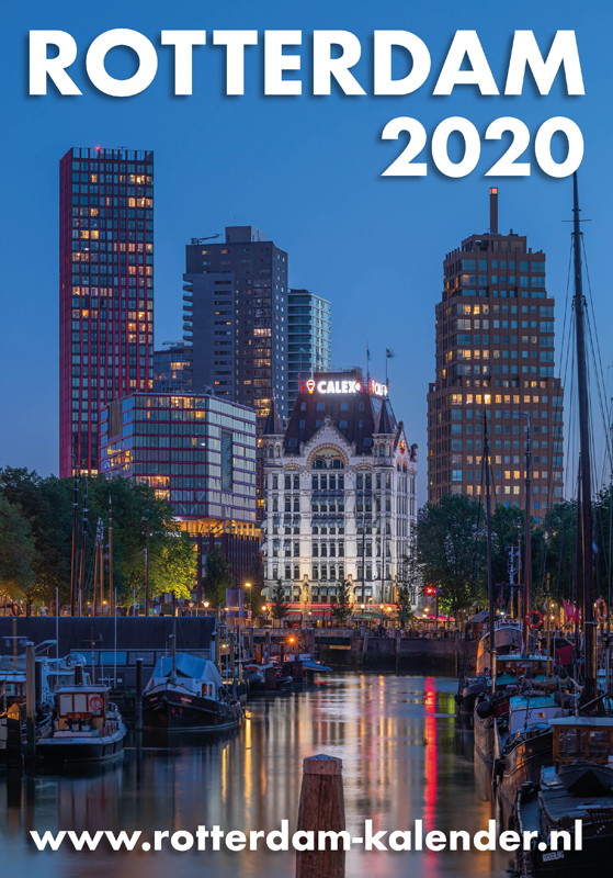 Rotterdam 2020 Kalender Shop MS Fotografie