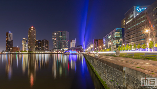 Skyline Rotterdam - Rotterdam by Night | Cover Small