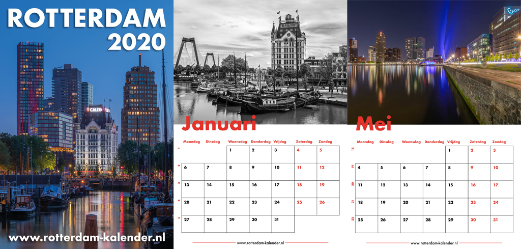 Rotterdam Kalender 2020 | MS Fotografie