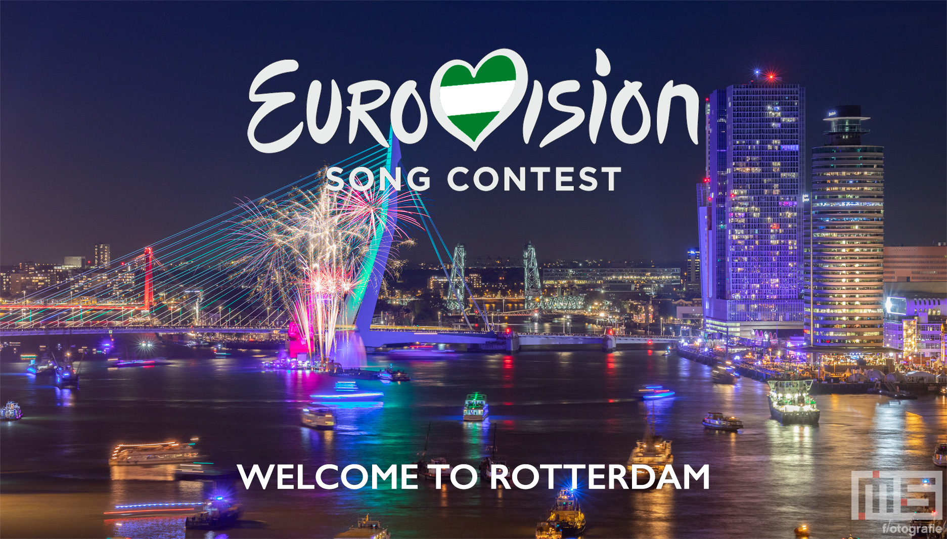 Eurovisie Songfestival 2020 in Rotterdam Ahoy Cover