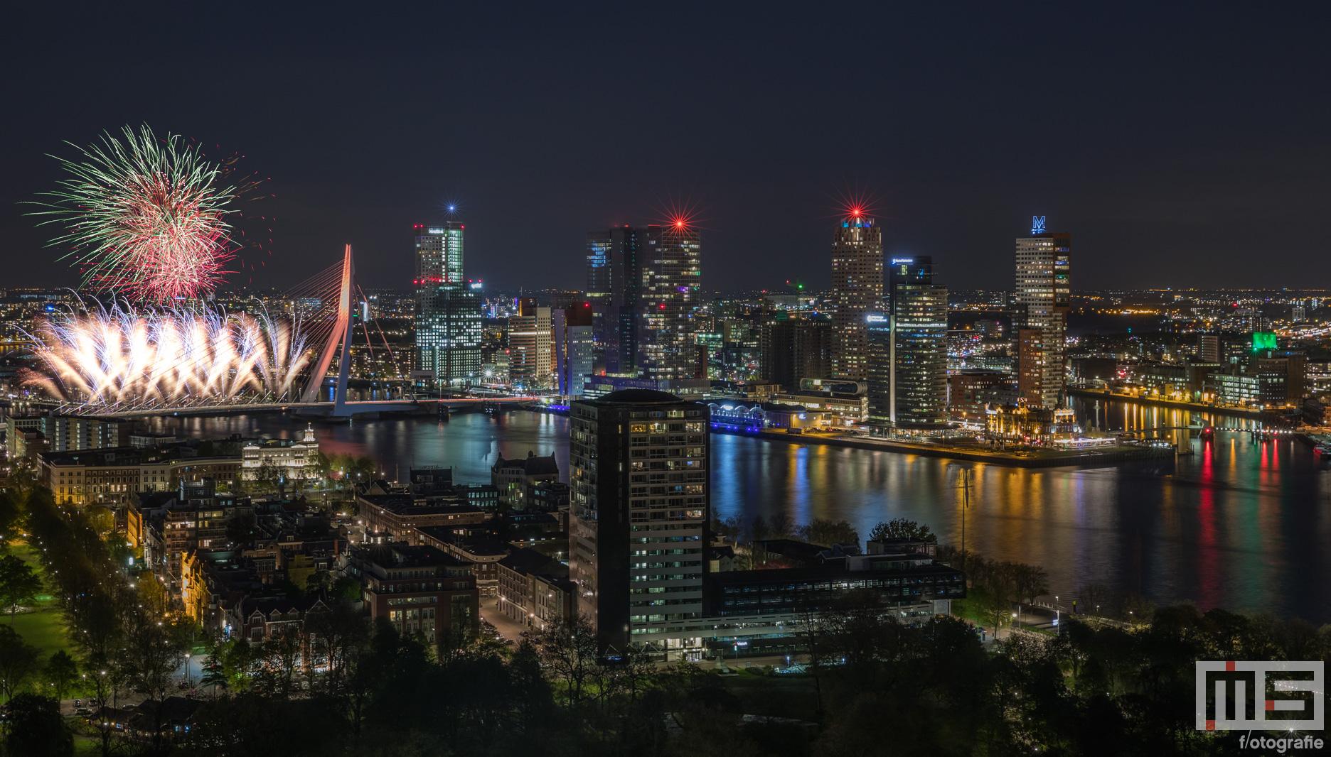 Het Nationale Vuurwerk Rotterdam By Night 2020 | Cover