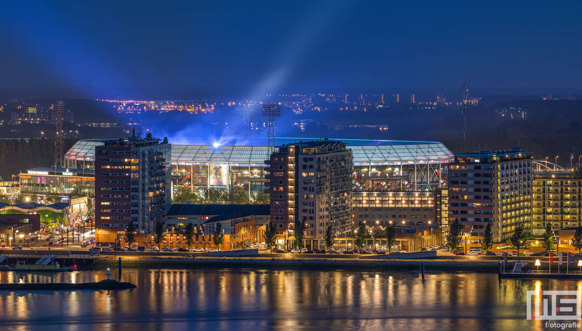 Feyenoord Rotterdam Stadion De Kuip tijdens het concert van Marco Borstato | Cover