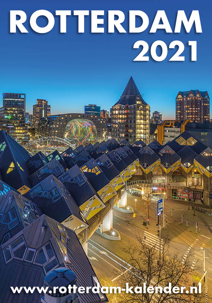 Rotterdam Kalender 2021 in de winkel en online te koop | Cover