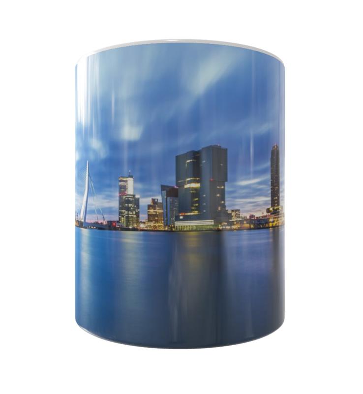 Skyline Rotterdam Mok 2 Shop MS Fotografie