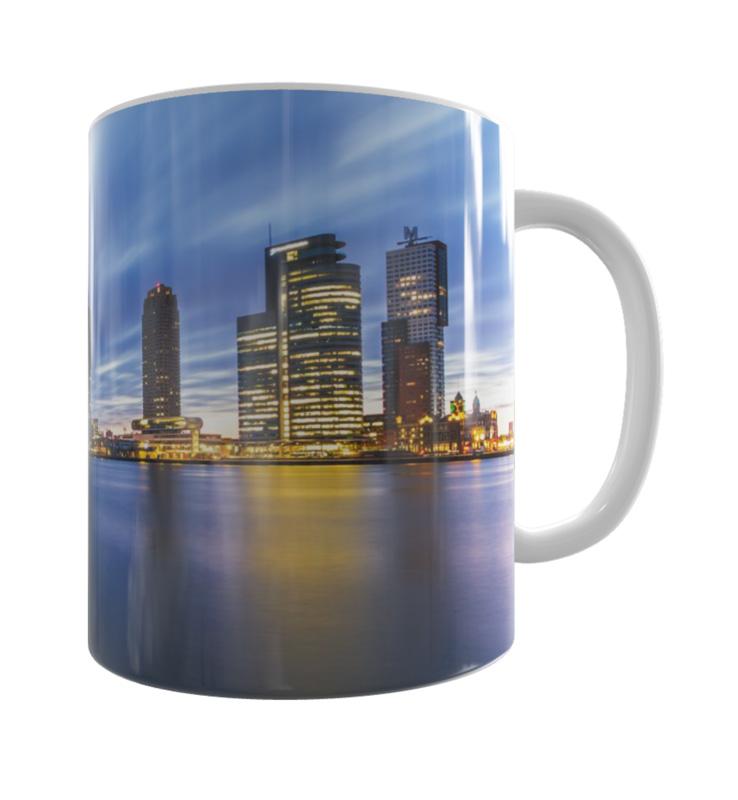 Skyline Rotterdam Mok 3 Shop MS Fotografie