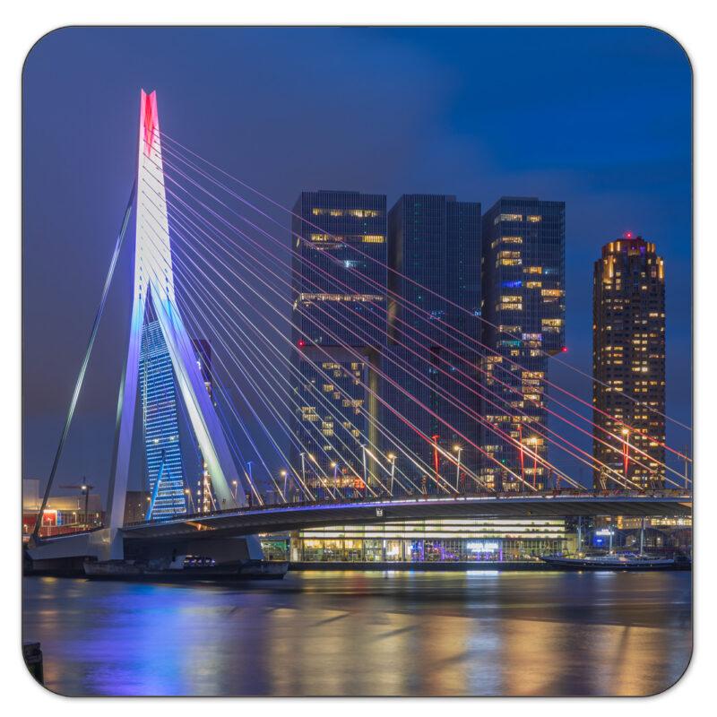 Erasmusbrug Rotterdam Onderzetter Shop MS Fotografie