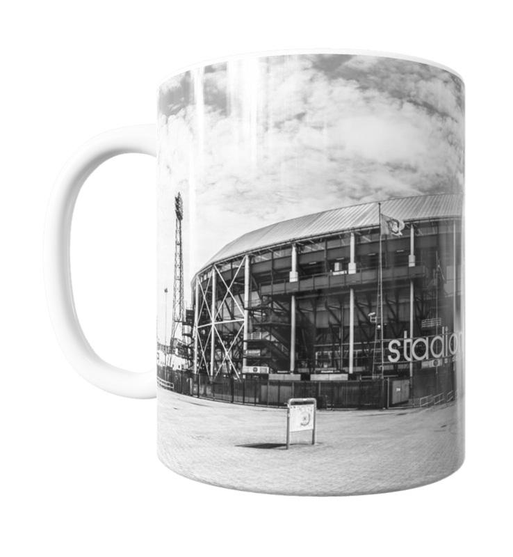 Feyenoord De Kuip Mok ZW 1 Shop MS Fotografie
