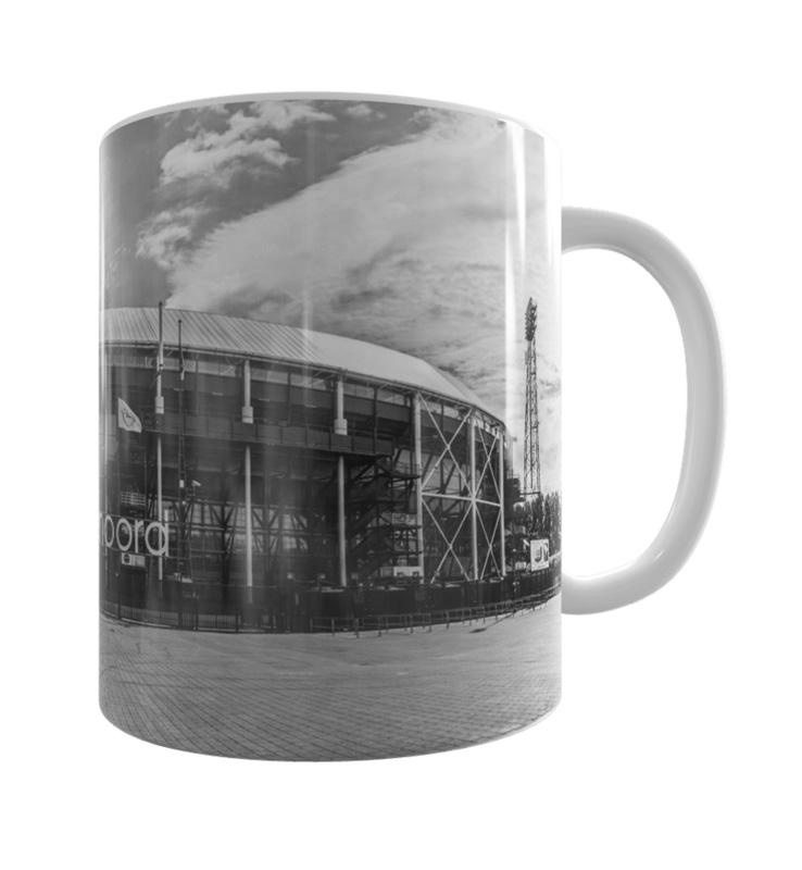 Feyenoord De Kuip Mok ZW 3 Shop MS Fotografie