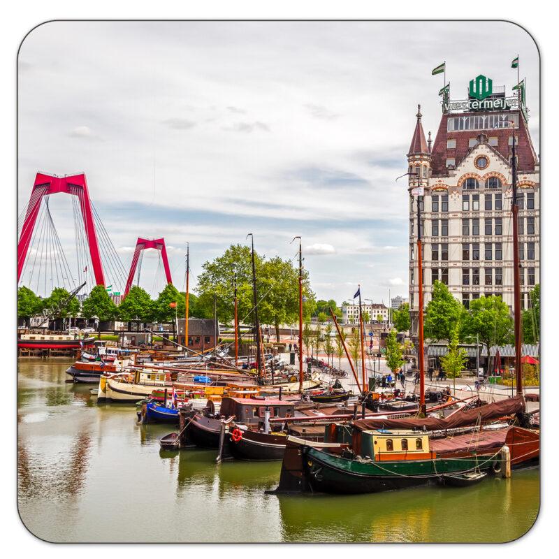 Witte Huis Rotterdam Onderzetter Shop MS Fotografie