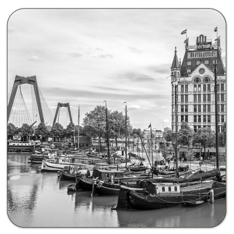 Witte Huis ZW Rotterdam Onderzetter Shop MS Fotografie