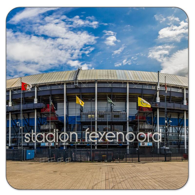 Feyenoord De Kuip Onderzetter Rotterdam Shop MS Fotografie
